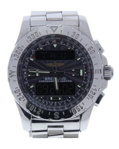 Breitling Airwolf Titanium A78368 Grey Dial Mens 48-mm Quartz Sapphire crystal.