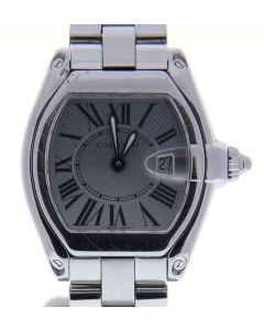 Cartier Roadster 2675 Stainless-steelSilver Dial Womens 30-mm Quartz Watch