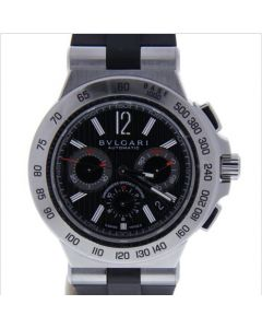 BvlgariDiagono Professional Stainless-steel D1120 Black Dial Mens 42-mm Automa