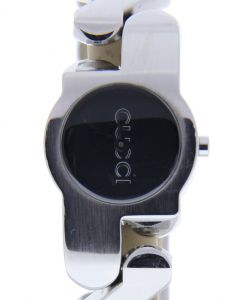 Gucci Stainless-steel YA0370 Black Dial Womens 26-mm Quartz Sapphire crystal. Wr