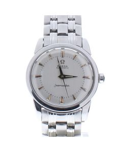 Omega Seamaster Stainless-steel 1502.40.00 Silver Dial Mens 29-mm Automatic self