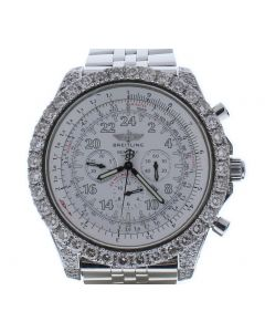 Breitling Bentley Stainless-steel A22362 White Dial Mens 48-mm Automatic self-wi