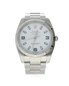 Rolex Air-King Stainless-steel 114210 White Dial womens 34-mm Automatic self-wind
