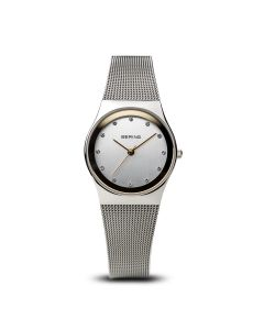 BERING Time 12927-010 Womens Classic Collection Watch with Mesh Band.