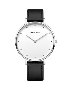 BERING Time Classic Collection Stainless-steel 14839-404 White Dial Mens 39-mm Q