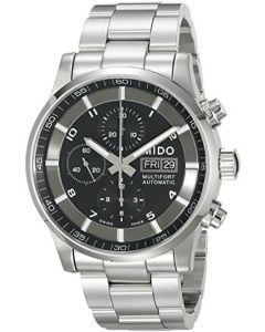 Mido Men's MIDO-M0056141105701 Multifort Analog Display Swiss Automatic Silver Watch