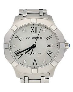 Concord Saratoga Stainless-steel 0320162 Mother-of-Pearl Dial Womens 31-mm Quart