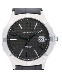 Concord Saratoga Stainless-steel 0320181 Black Dial Mens 40-mm Automatic self-win
