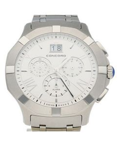 Concord Saratoga Stainless-steel 0320195 Silver Dial Mens 42-mm Quartz Sapphire