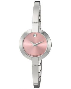 Movado Women's 0606596 Bela Stainless Steel Bangle Watch