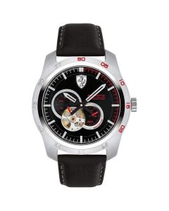Ferrari Primato Stainless-steel 830442 Black Dial Mens 44-mm Automatic self-wind