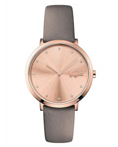 Lacoste Moon Stainless-steel 2001039 Rose Gold Dial Womens 35-mm Quartz Mineral