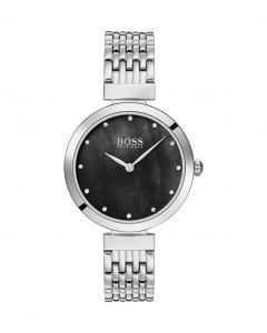 Hugo Boss Womens Analogue Classic Quartz Watch with Stainless Steel Strap 1502478