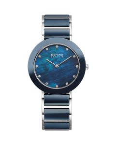 BERING Time 11435-787 Womens Ceramic Collection Watch with Stainless steel Band.
