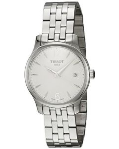 Tissot TTrend Tradition Silver Dial Stainless Steel Women Watch T0632101103700