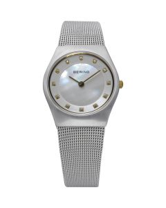 BERING Time 11927-004 Womens Classic Collection Watch with Mesh Band.