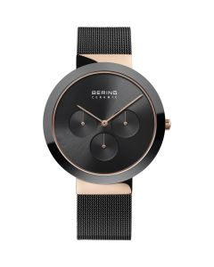 BERING Time High-Tech Ceramic Collection Stainless-steel 35040-166-US Black Dial