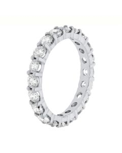 2.00 Ct. T.W. Round Diamond Eternity Band in Platinum